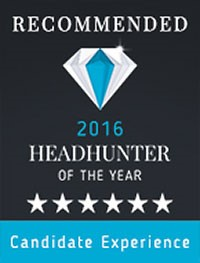 Headhunter of the Year 2016 - Six Star Rating Candidate Experience